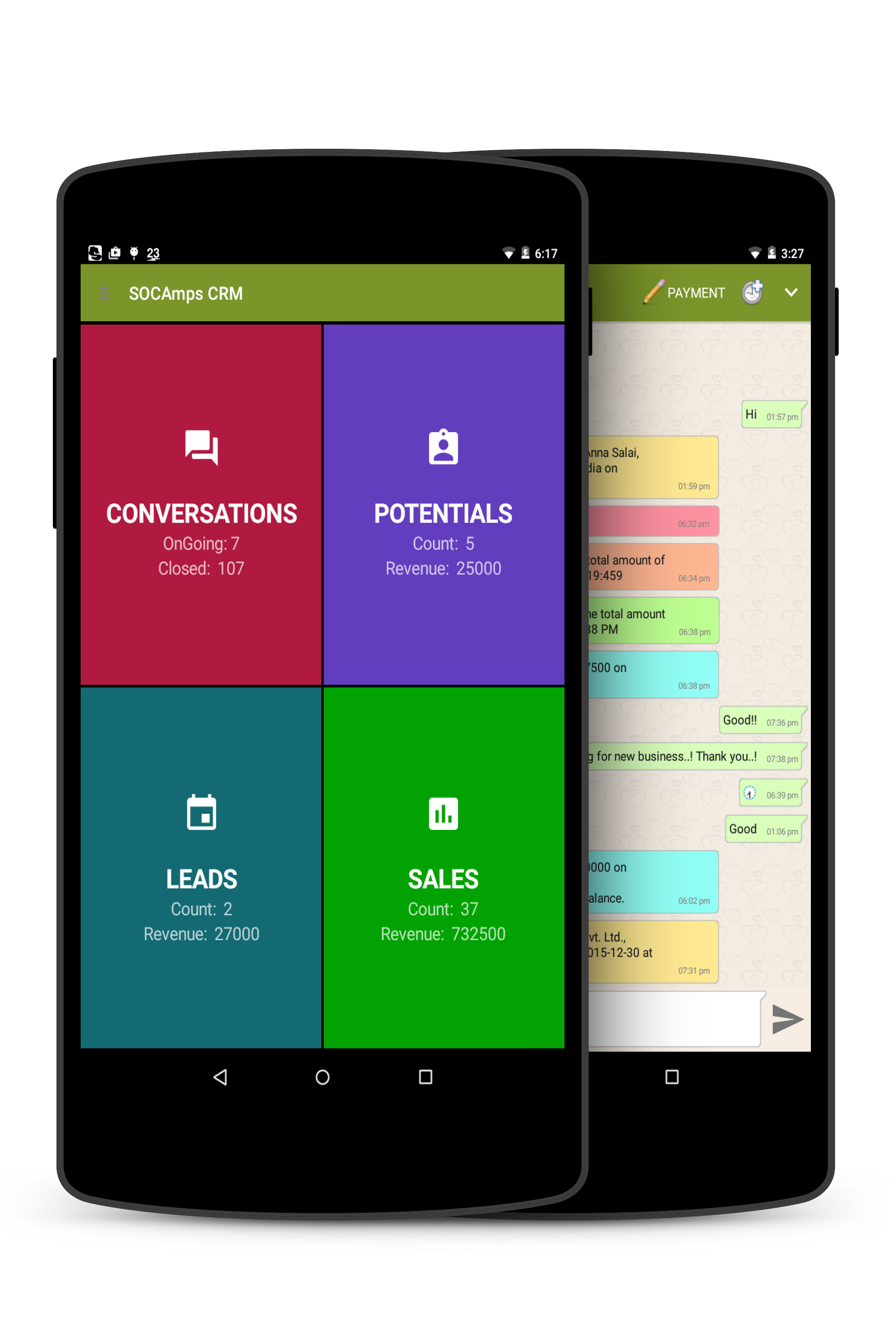 SOCAmps Mobile CRM Download