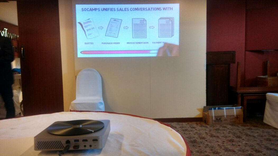 SOCAmps Mobile CRM - Intro Video Playing